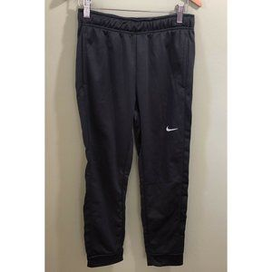 Nike Boys Therma Fit Activewear  Pants Gray Large